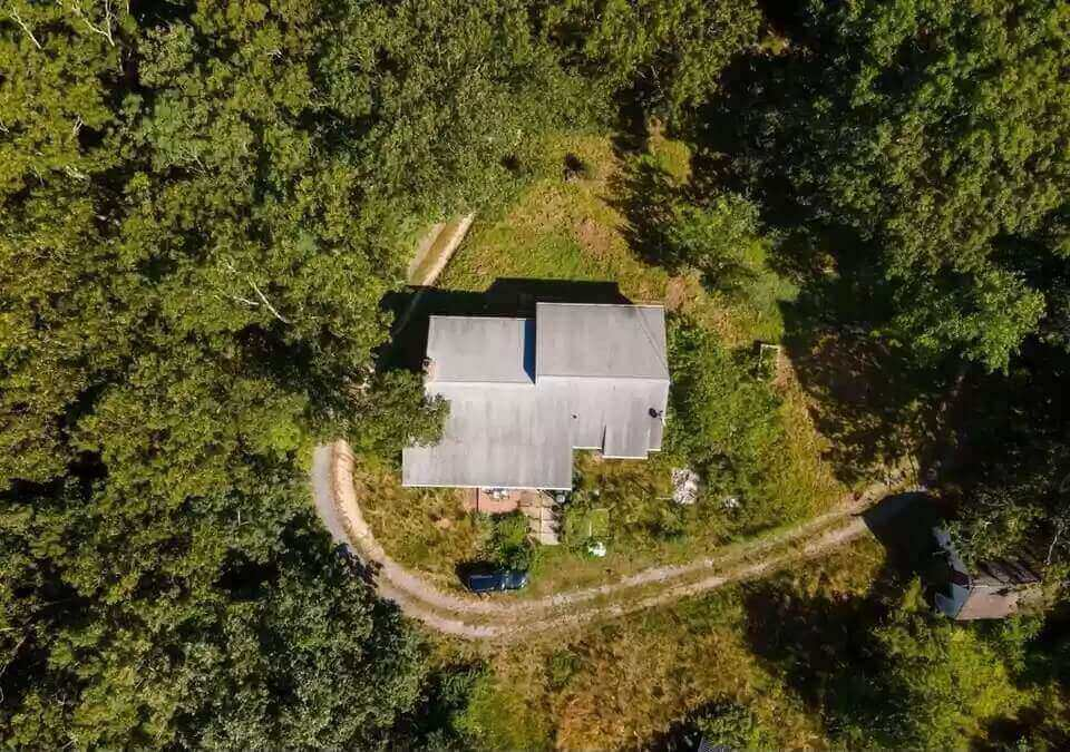 Ariel view of property for Hope's Home