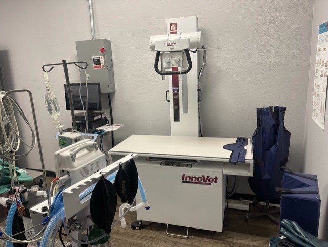 Leave No Paws Behind Veterinary Clinic's Digital X-Ray Machine